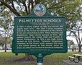 Palmetto's Schools Marker Palmetto Florida 2019-12035.jpg