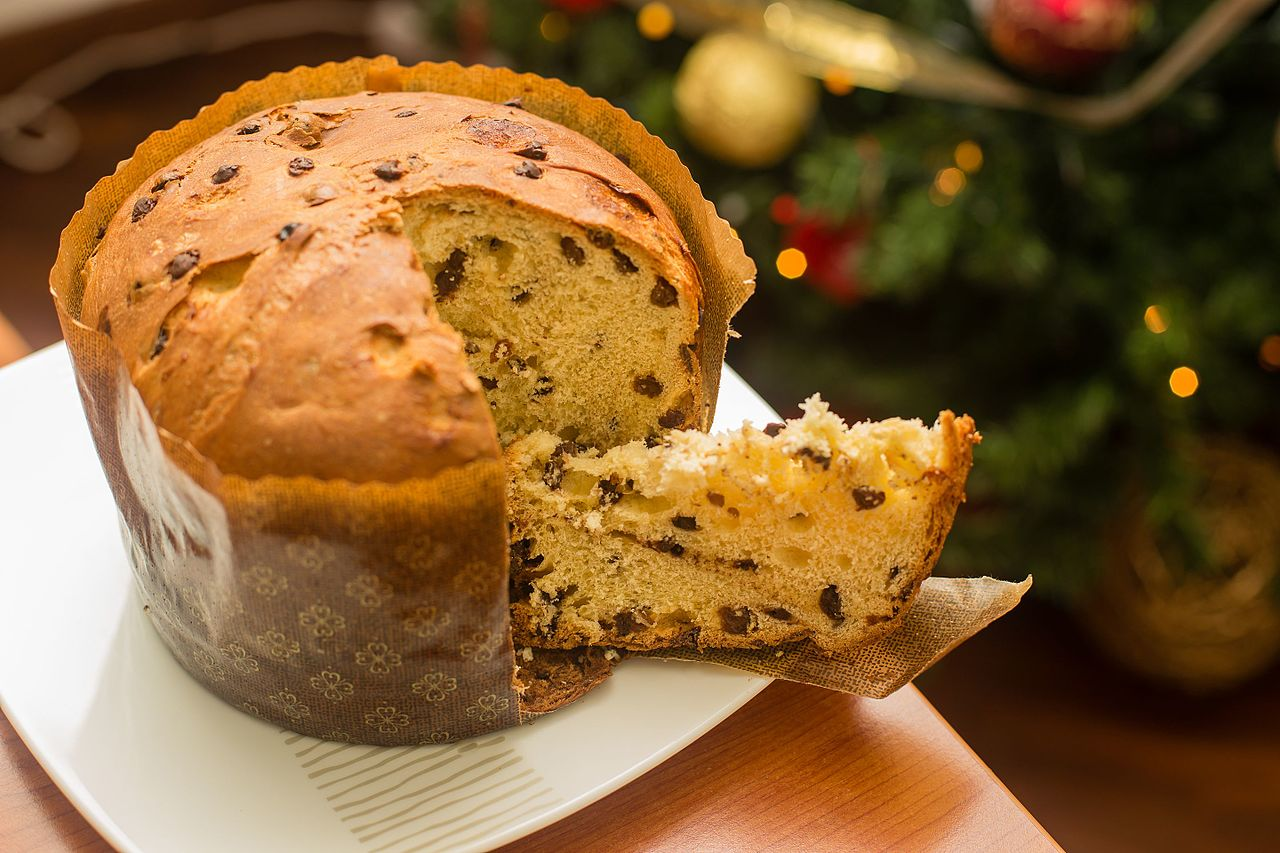 panettone is an italian type of sweet circular bread loaf originally from milan usually prepared and enjoyed for christmas and new year