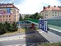 Pankrácké náměstí, lávka (01).jpg