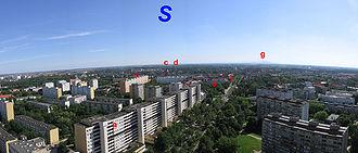 Panorama po�udniowa (~90�) z tego samego miejsca