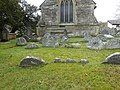Parish church of Church of St Bridget at Llansantffraid Glyn Dyfrdwy (later re-named Carrog), Sr Ddinbych, Wales 23.jpg