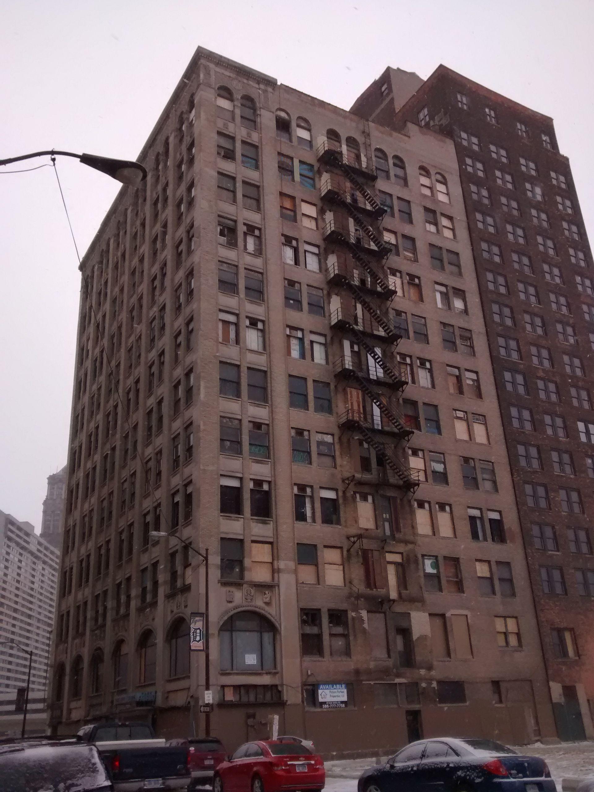 park avenue building  detroit  michigan