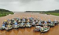 Parked boats at Anjarle Creek.jpg