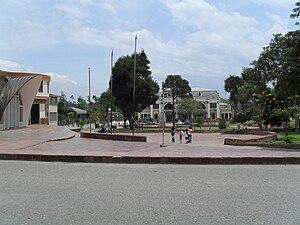Chiquinquirá - Image: Parque David Guarín
