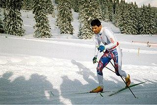 Patrick Rémy (skier) French cross-country skier