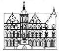 Paul Sültenfuß (* 12. August 1872 in Unna-Königsborn Kreis Hamm i.W.; † 28. April 1937 in Düsseldorf), altes Rathaus in Düsseldorf.JPG