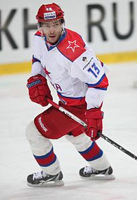 12a42b825df Datsyuk playing for CSKA during the 2012 NHL Lockout