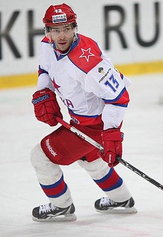 Pavel Datsyuk - Datsyuk playing for CSKA during the 2012 NHL Lockout