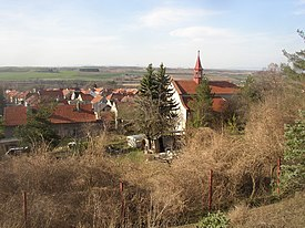 Pchery CZ view from belfry towards N over St Stephen church 167.jpg