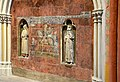 Peinture murale vestige d'un tombeau a la cathedrale St Gatien de Tours DSC 0722.jpg