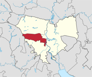 Penza city (Russia) Leninsky district.png
