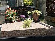 Colette's tomb in Le Père Lachaise Cemetery.