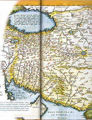Abraham Ortelius - Map of the Persian Empire from the Theatrum Orbis Terrarum