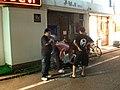 Person of Low Class around Ozaku Station(小作駅周辺にいた下層階級の人) - panoramio.jpg