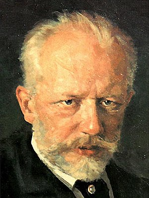 The Seasons (Tchaikovsky) - Portrait of Pyotr Ilyich Tchaikovsky by Nikolai Dimitriyevich Kuznetsov