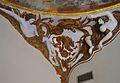 Petxina amb caiman, al·legoria d'Amèrica, cúpula del palau del marqués de Dosaigües.JPG