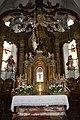 Pfarrkirche St. Andrä vor dem Hagental Altar.JPG