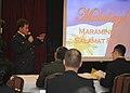 Philippine Navy chief surgeon Col. Ramon Tan, left, gives a presentation during the fiscal year 2014 Pacific Navies Senior Medical Leadership Seminar in Yokosuka, Japan, Jan. 15, 2014 140115-N-YF014-072.jpg