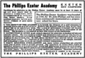 Philips Exeter Academy advertisement 1909.png