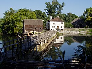 Sleepy Hollow, New York - Philipsburg Manor House at the Upper Mills