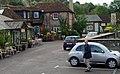 Phillip and rental car, Amberley Bridge, West Sussex, England, 2008 - Flickr - PhillipC.jpg