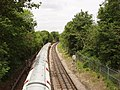 Piccadilly Line train from Wood End Road bridge - geograph.org.uk - 17537.jpg