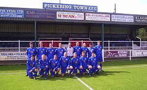 Pickering Town F.C. - Squad Photo 2008–09