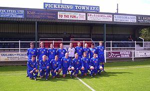 Pickering Town F.C. - Squad Photo 2008–09