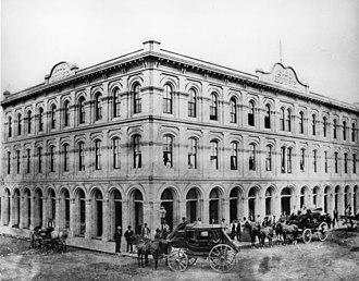 Pico House - Image: Pico House 1875