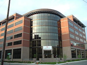 Phoenix Hill, Louisville - The newly completed Medical Office Plaza on the University of Louisville's Health Sciences Campus
