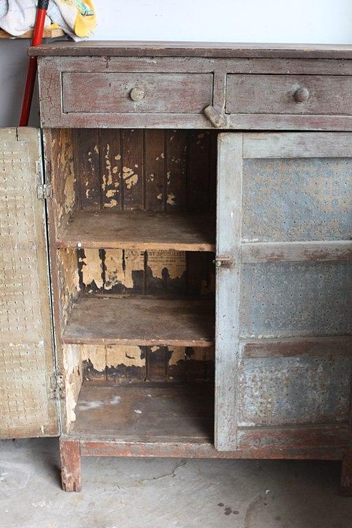 File Pie Safe Door Open 01 Jpg Wikimedia Commons
