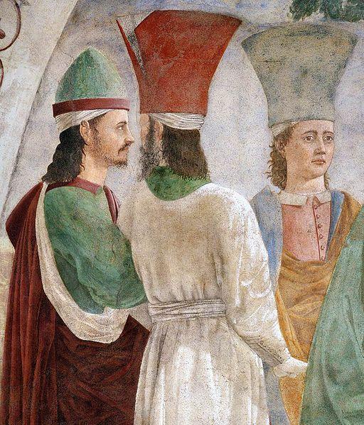 Piero della Francesca - 9. Exaltation of the Cross (detail) - WGA17572