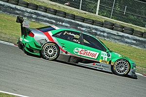 Pierre Kaffer - Kaffer driving for Audi (Team Phoenix) in the 2006 DTM season.