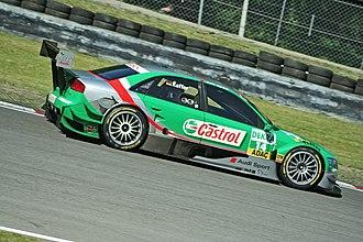 Pierre Kaffer - Kaffer driving for Audi (Team Phoenix) in the 2006 DTM season.