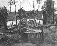 Piet Mondriaan - Farm building with white side façade - A297 - Piet Mondrian, catalogue raisonné.jpg