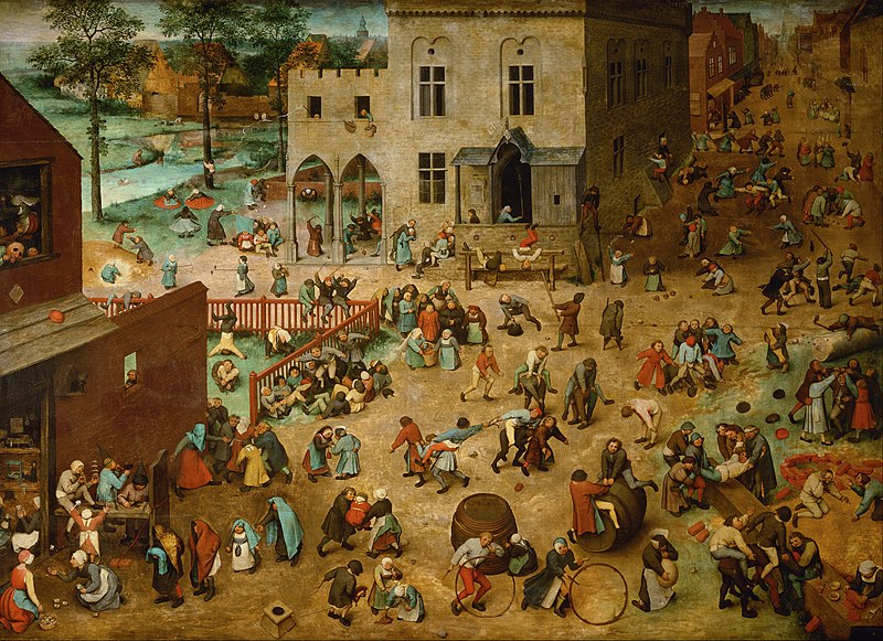 Datei:Pieter Bruegel the Elder - Children's Games - Google Art Project.jpg