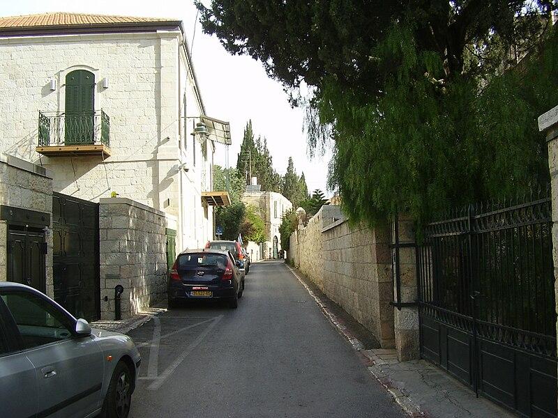 רחוב אתיופיה בירושלים