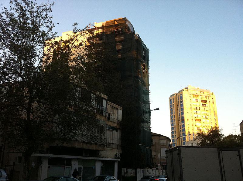 מבנה בשיפוץ