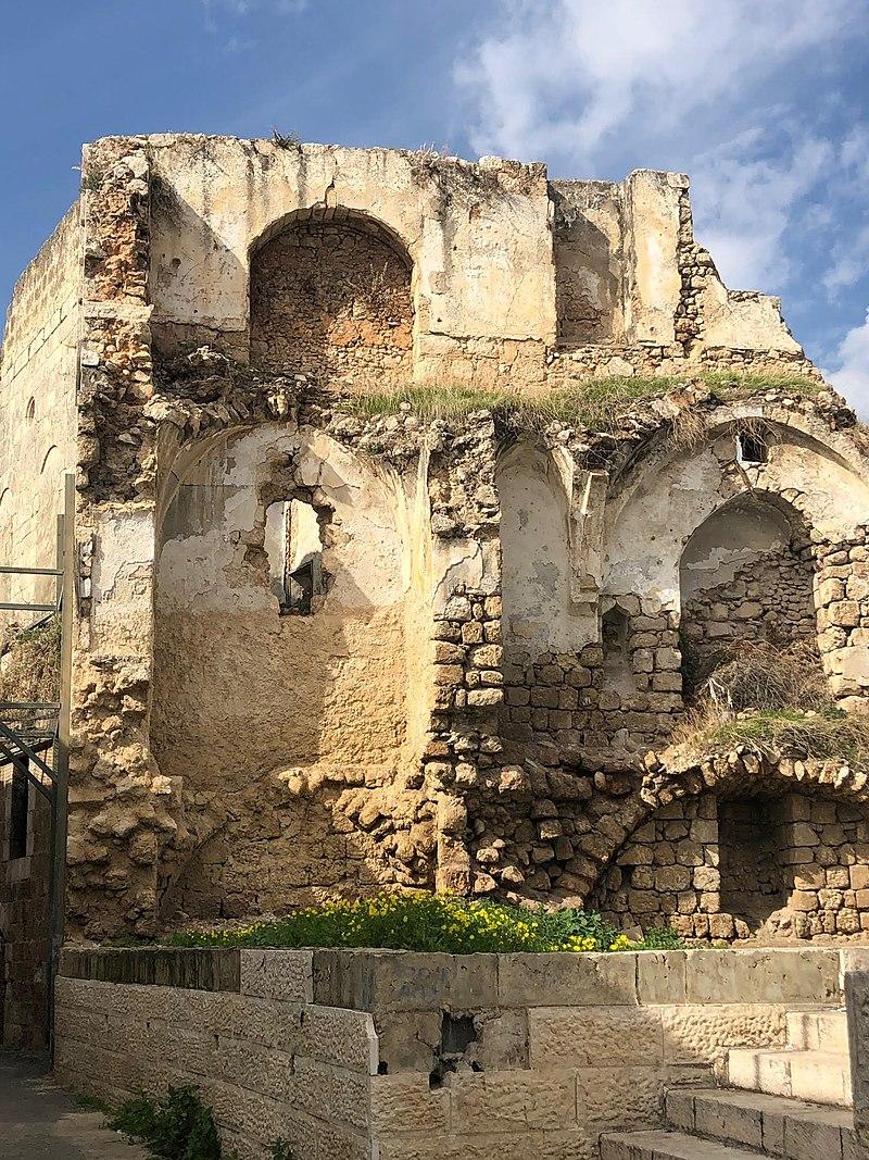 שרידים של הרובע הארמני ברמלה