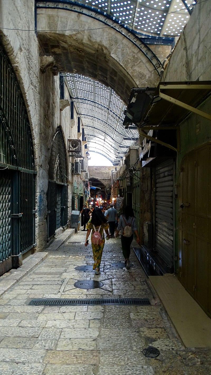 שוק העיר העתיקה בירושלים