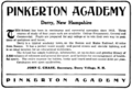 Pinkerton Academy advertisement 1909.png