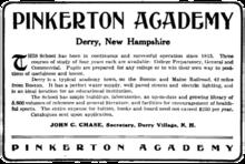 Pinkerton Academy Campus Map.Pinkerton Academy Wikivisually