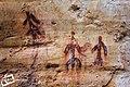 Pinturas rupestres de la Edad del Bronce o Calcolítico (2000-1000 a.C. aprox.) a orillas del Río Cabriel - panoramio.jpg