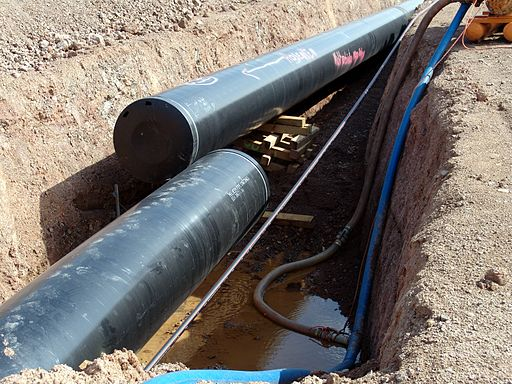 Pipeline im Bau 2