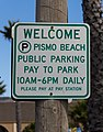 Pismo Beach (California, USA), Sign -- 2012 -- 4.jpg