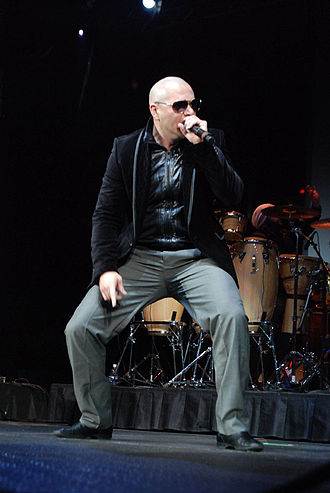 Pitbull (rapper) - Pitbull performing at the Allstate Arena, B96 Jingle Bash, Chicago