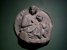 Pitti Tondo (casting in Pushkin museum) by shakko 01.jpg