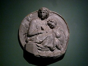 Pitti Tondo - A casting of the Florence bas-relief held in the Puskin museum.