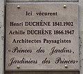 Plaque Duchêne 10 avenue de New-York Paris.jpg