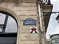 Plaque Place Saint Michel - Paris V (FR75) - 2021-07-28 - 2.jpg